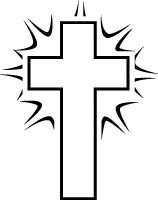 Crosses clipart black and white image download Cross Clipart Black And White | Clipart Panda - Free Clipart Images image download