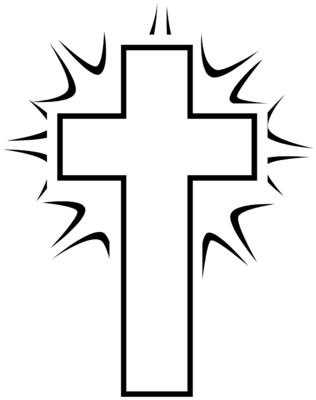 Crosses clipart black and white banner transparent download Free Cross Clipart Black And White | Free download best Free Cross ... banner transparent download