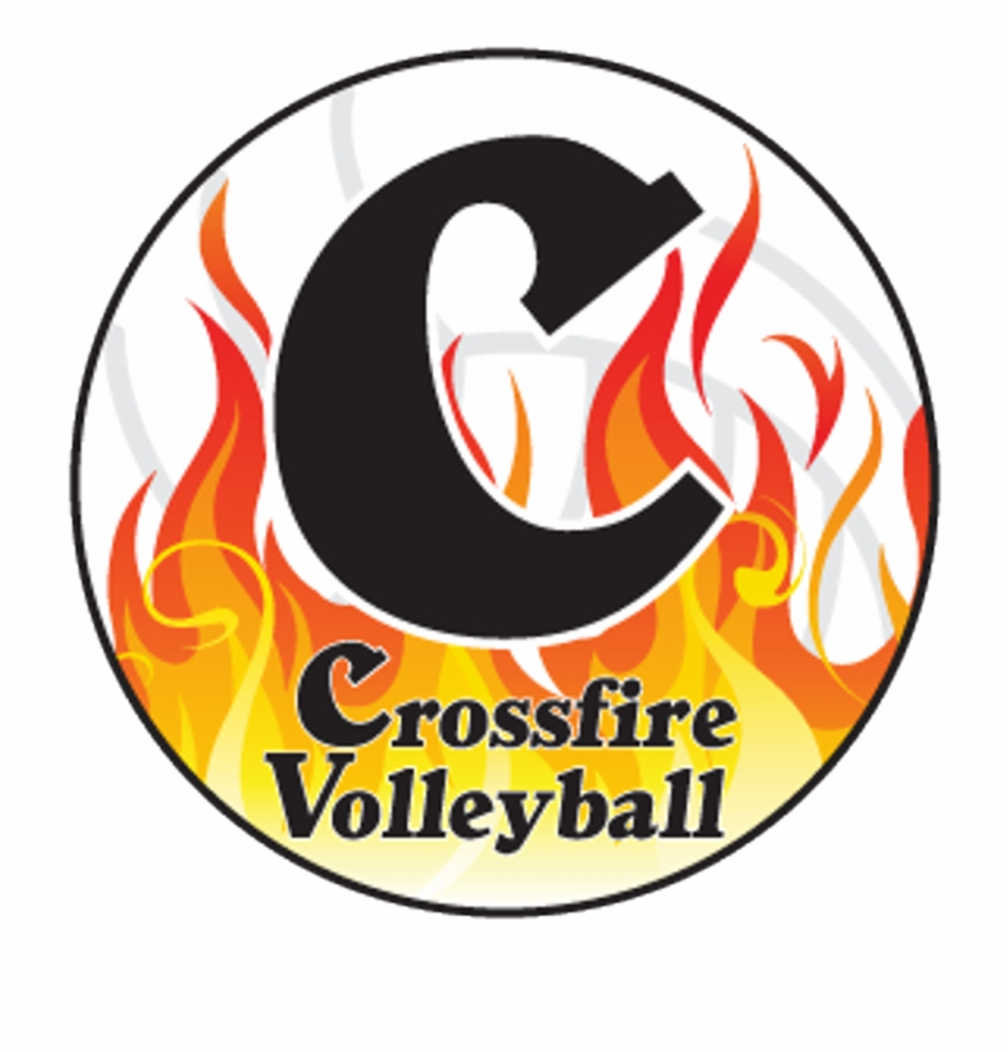 Crossfire logo clipart vector transparent library Crossfire Volleyball Logo Free PNG Images & Clipart Download #10637 ... vector transparent library