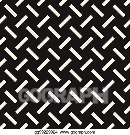 Crosshatch clipart clip black and white library Vector Art - Crosshatch vector seamless geometric pattern. crossed ... clip black and white library