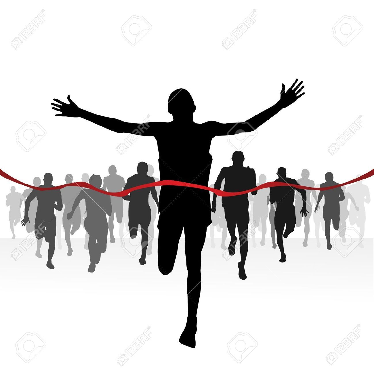 Runner crossing finish line clipart png freeuse download Runner crossing finish line clipart 1 » Clipart Portal png freeuse download