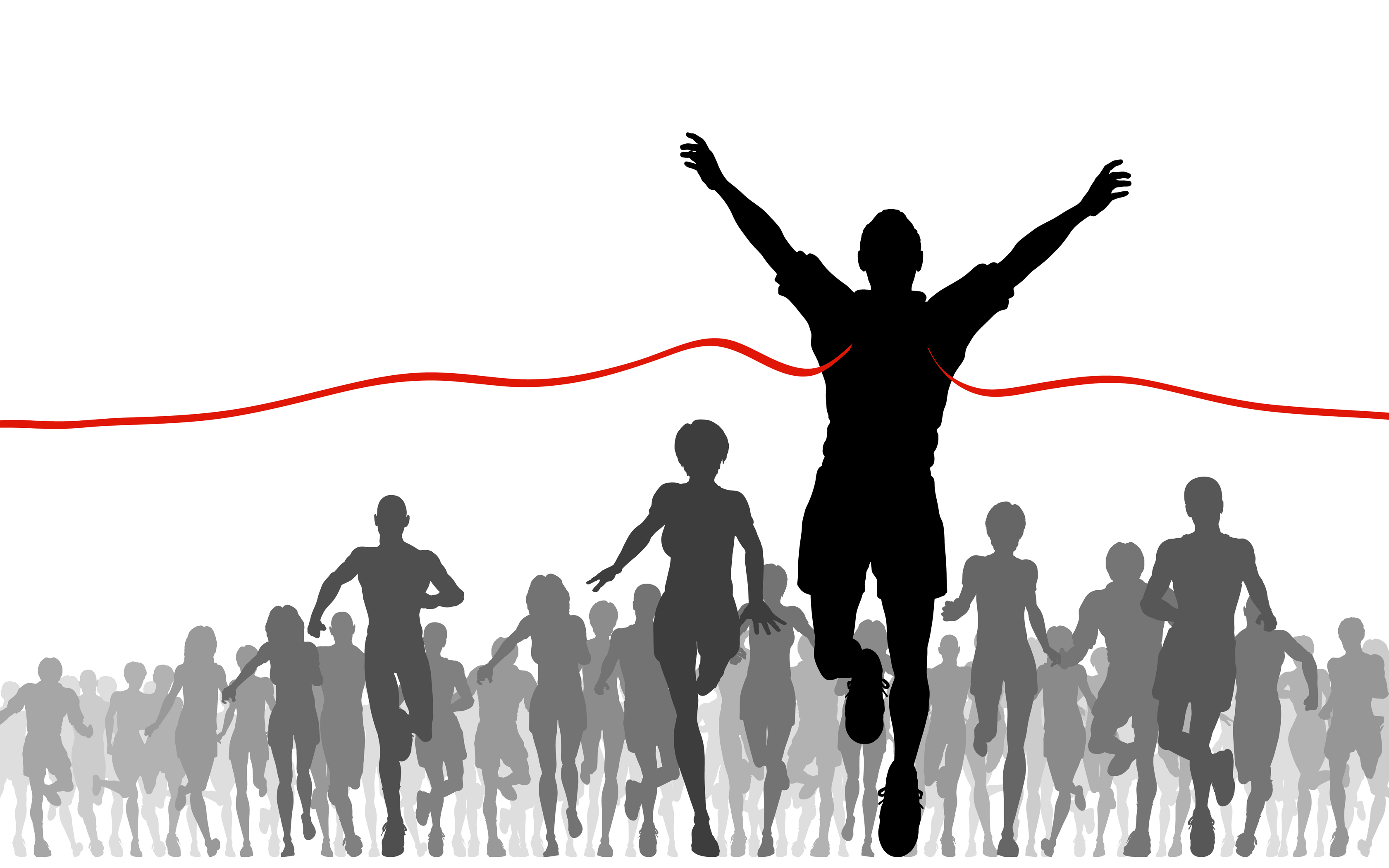 Runner crossing finish line clipart graphic black and white download Free Finish Line Cliparts, Download Free Clip Art, Free Clip Art on ... graphic black and white download