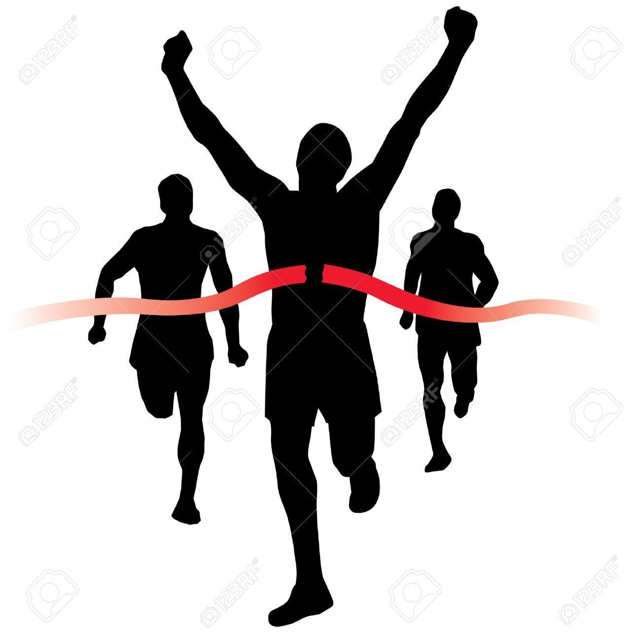 Runner crossing finish line clipart transparent Runner crossing finish line clipart » Clipart Portal transparent
