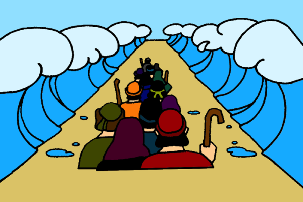 Crossing the red sea clipart svg freeuse 5_Crossing Red Sea Bible Lesson at Mission Bible Class | 造梦姬 ... svg freeuse