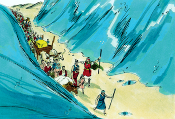 Crossing the red sea clipart svg download Bible Fun For Kids: 2.4. Moses & the Red Sea Crossing svg download