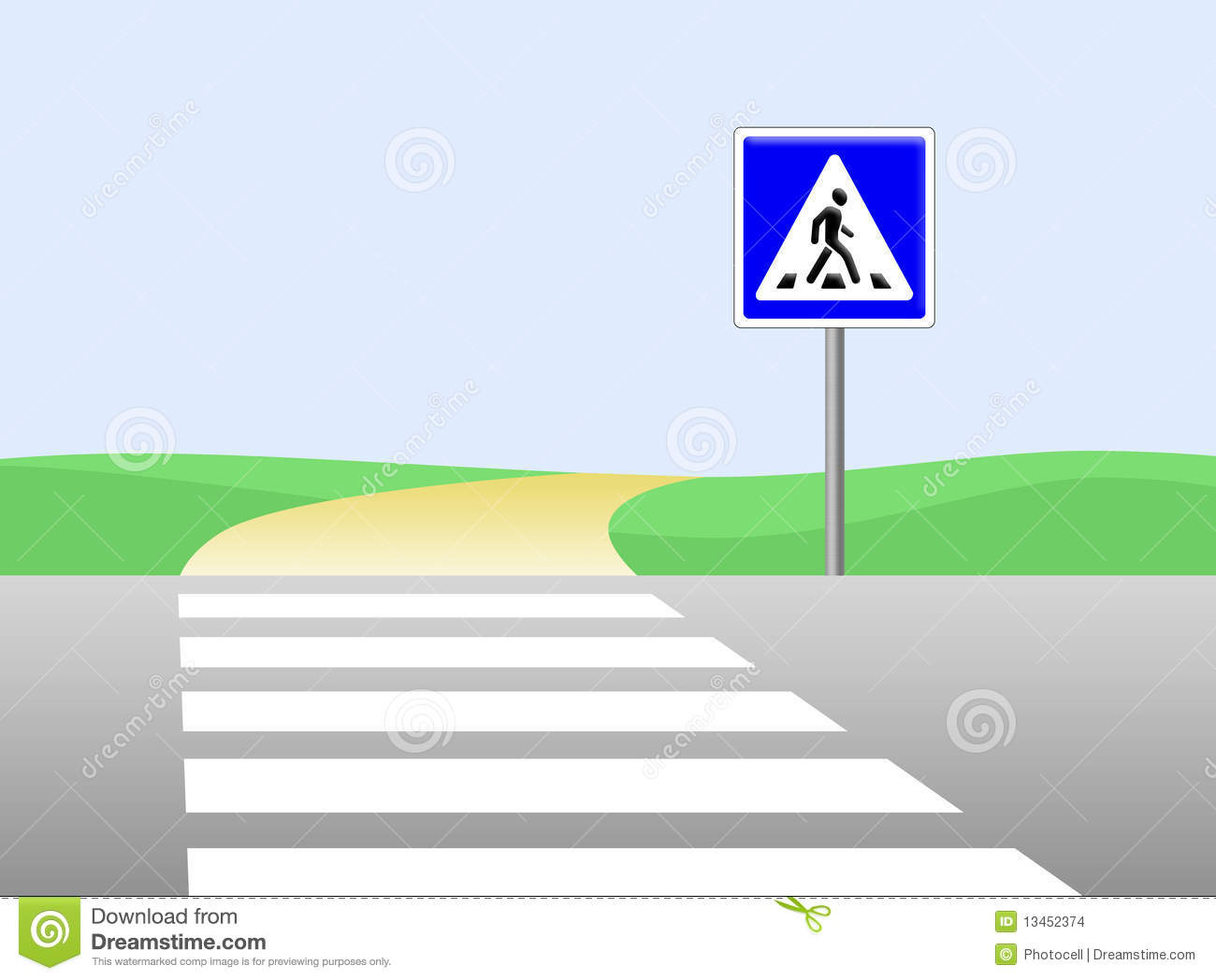 Crosswalk Clipart (98+ images in Collection) Page 2 picture royalty free