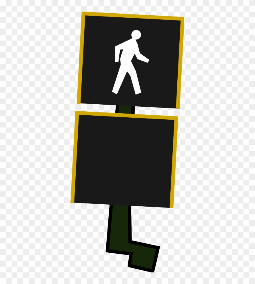 Cross Walk Clipart Clipground Distracted Pedestrian ... svg stock