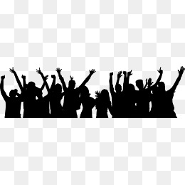 Crowd of black and white figures clipart image black and white download Human Shadow Png, Vectors, PSD, and Clipart for Free Download | Pngtree image black and white download
