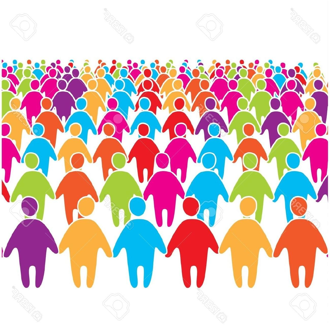 Crowd people clipart svg transparent download Crowd of people clipart Elegant Crowd clipart large crowd ... svg transparent download
