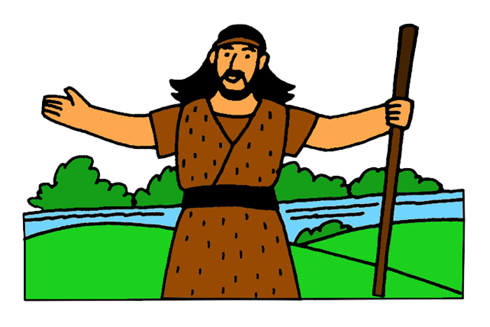 John the Baptist – Mission Bible Class picture library download