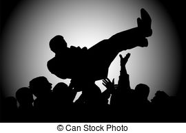 Crowdsurfing clipart clip art Crowd surfing Clipart and Stock Illustrations. 93 Crowd surfing ... clip art