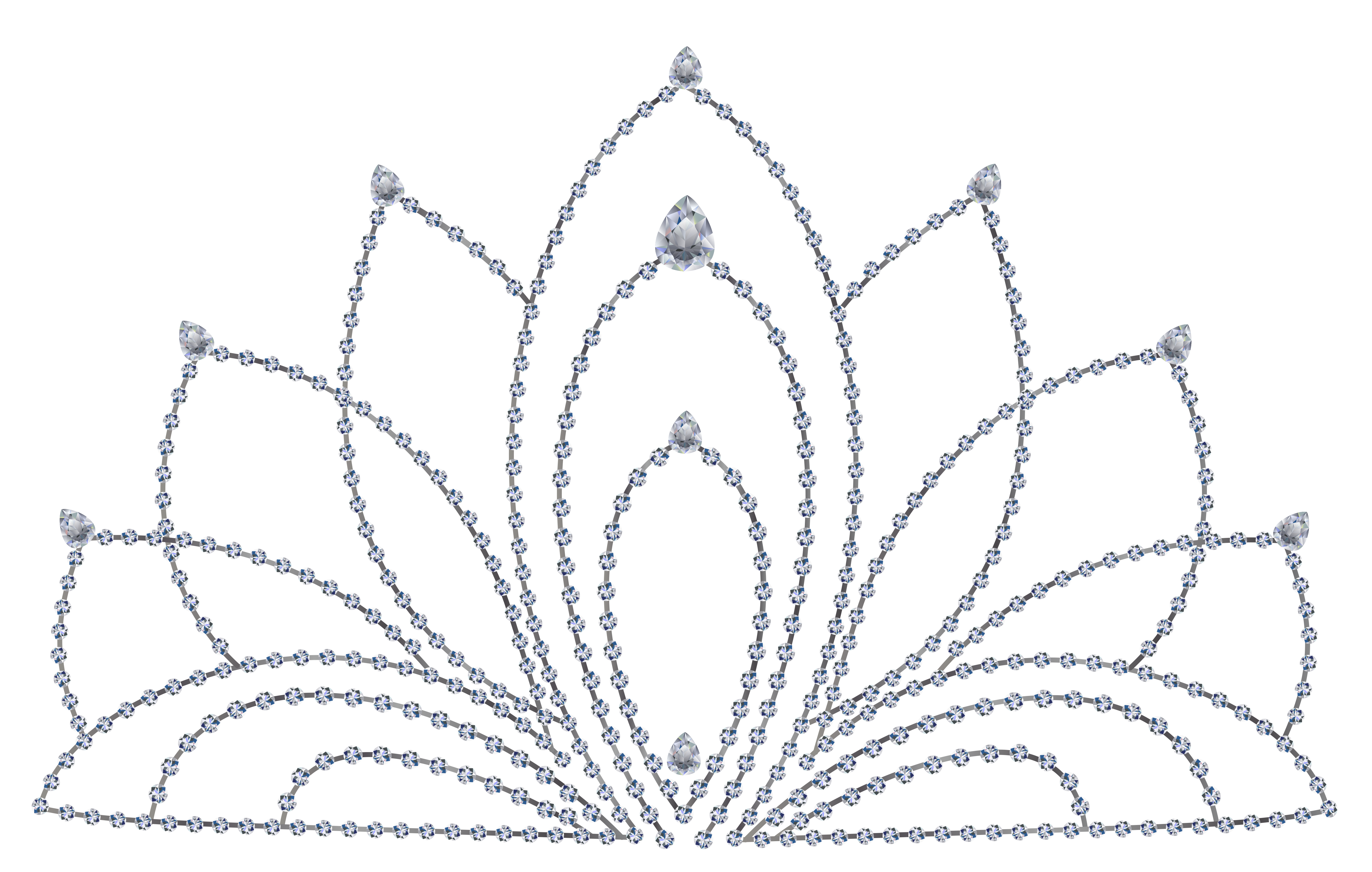 Crown and diamond clipart graphic download Tiara Crown Clip art - Diamond Tiara PNG Clipart 5252*3338 ... graphic download