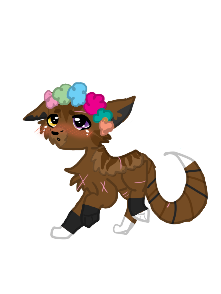 Crown and sash clipart picture freeuse download Fox Flower Crown by onyxthecatandwolf on DeviantArt picture freeuse download