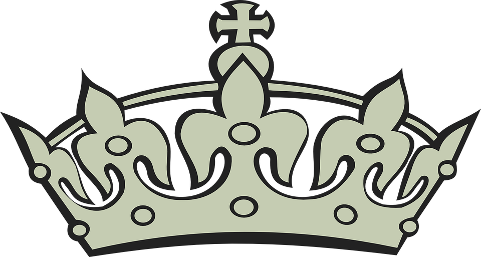 Crown and scepter clipart black anh withe svg royalty free Collection of Crown And Scepter Clipart   Buy any image and use it ... svg royalty free