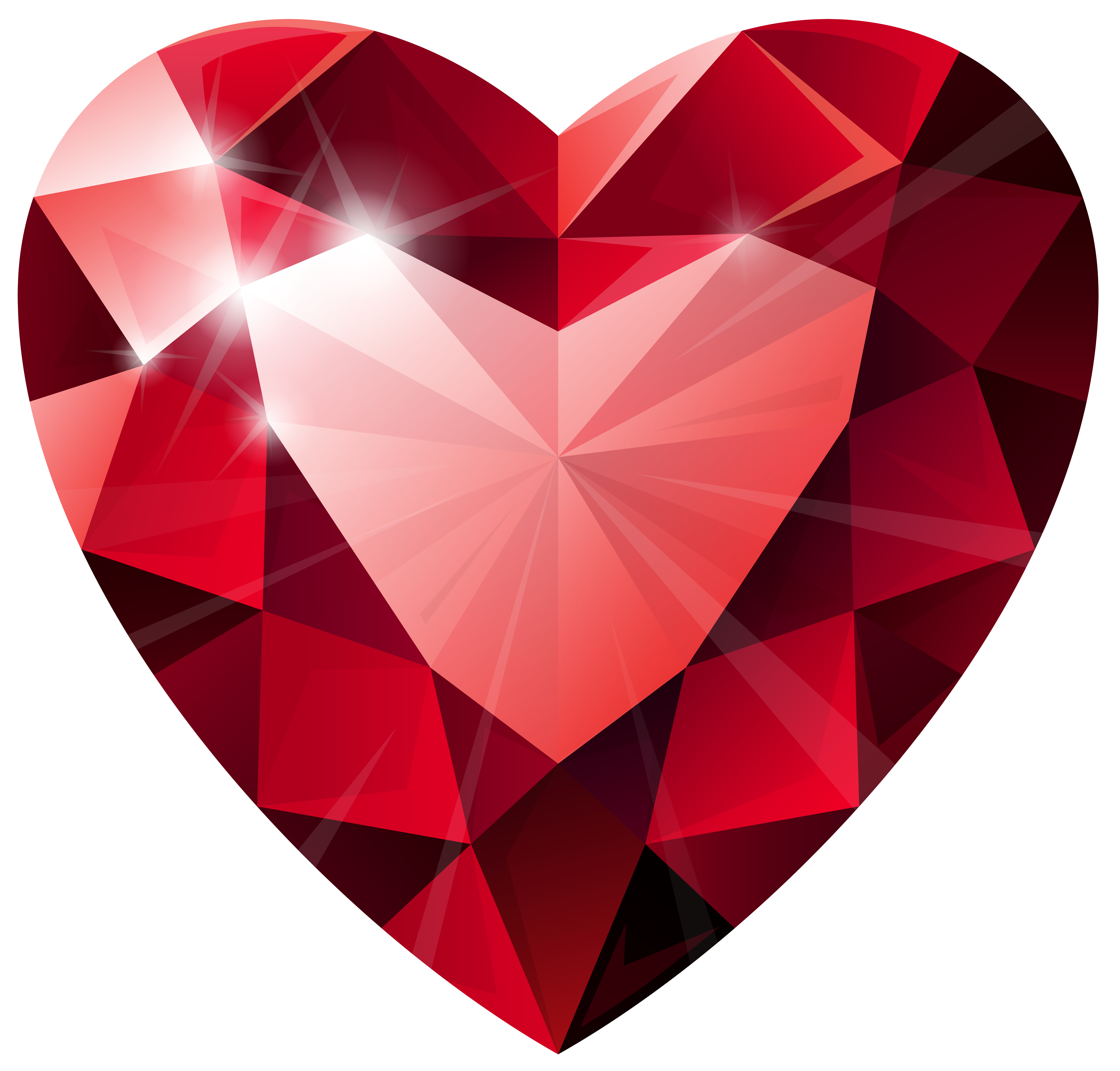 Crown and shaped diamond clipart svg transparent library Diamond Heart Transparent PNG Clip Art Image | drawing & art ... svg transparent library