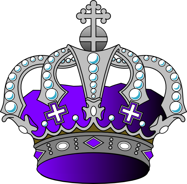 Sheild heart crown clipart png freeuse stock Silver Purple Crown Clip Art at Clker.com - vector clip art online ... png freeuse stock