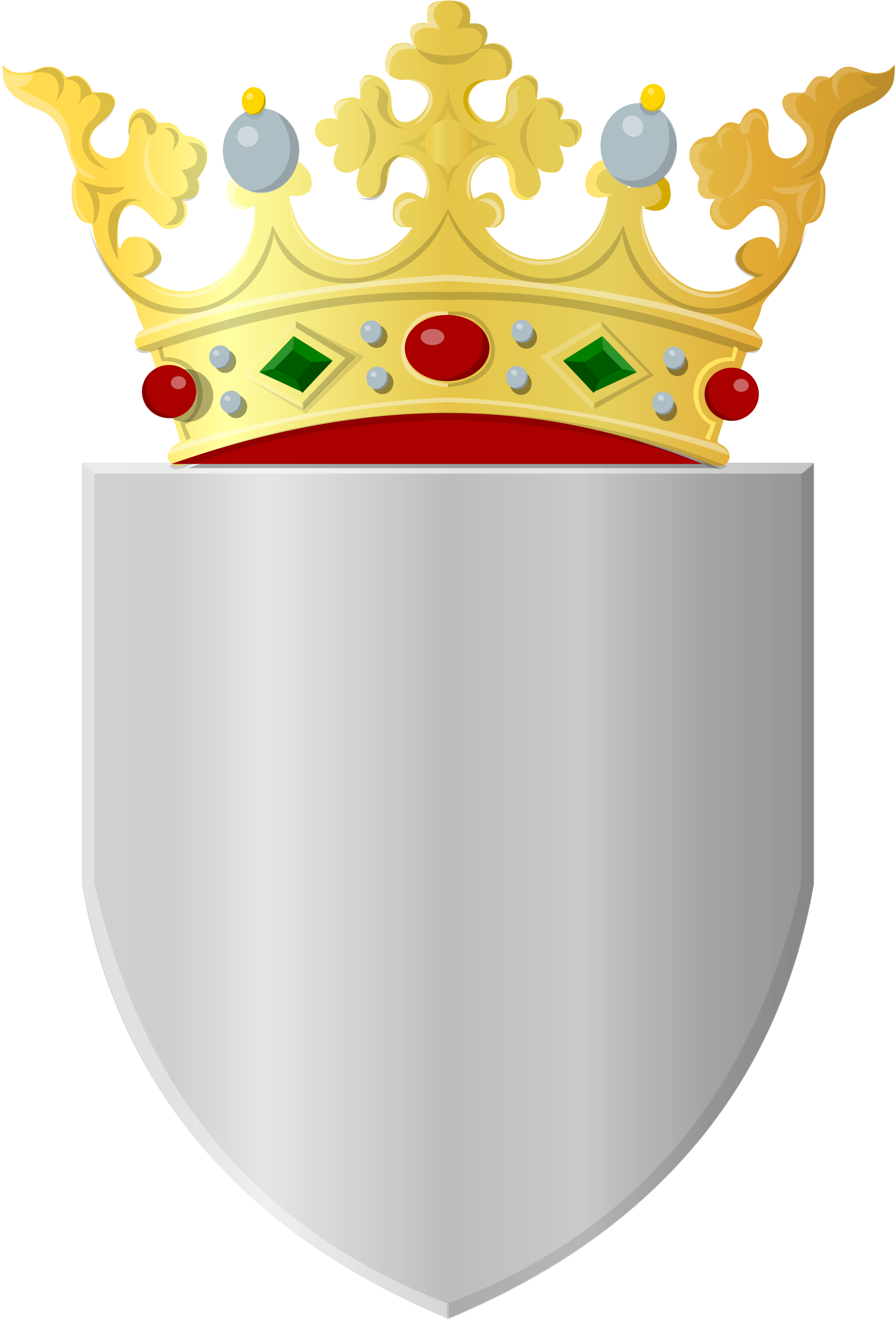 File:Silver shield with golden crown.svg - Wikimedia Commons clipart transparent download