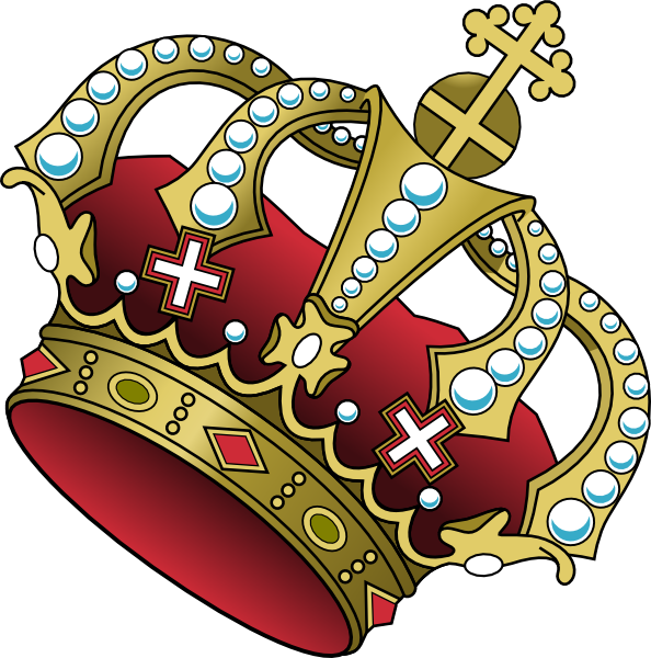 Tilted crown clipart vector freeuse download Crown Clip Art at Clker.com - vector clip art online, royalty free ... vector freeuse download