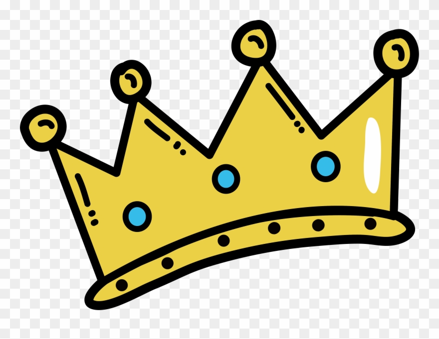 Crown cartoon clipart clip royalty free library Crown Clip Arts Images Free Vector Downloads Ud83e - Golden Crown ... clip royalty free library