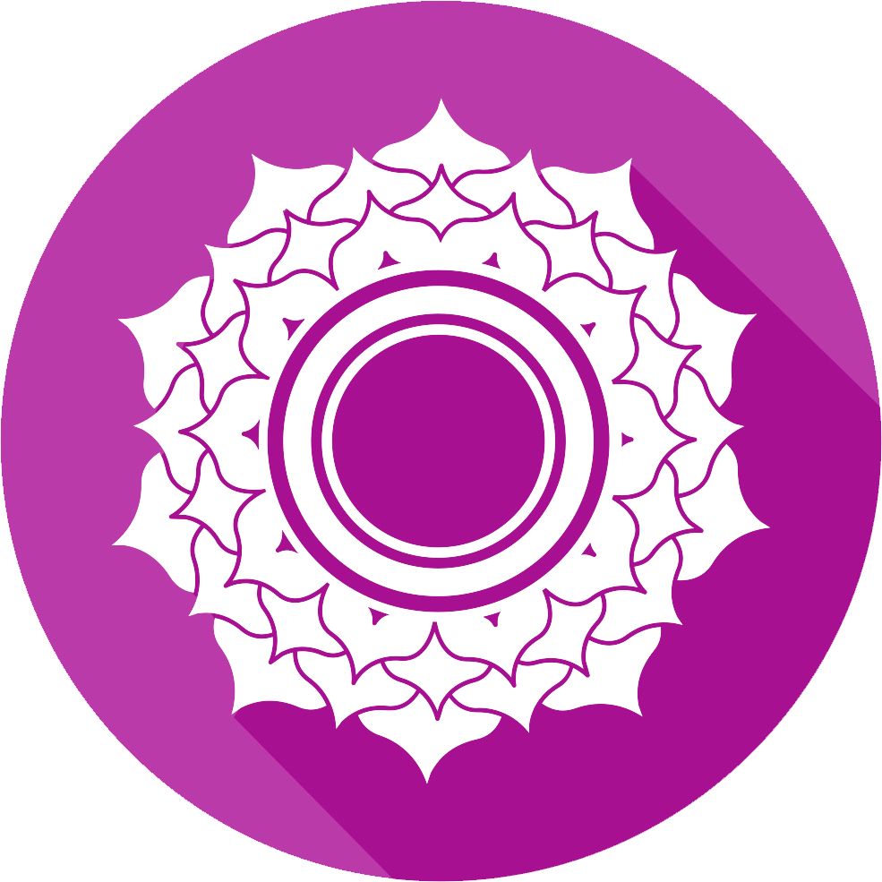 Crown chakra clipart vector free stock Crown Chakra vector free stock