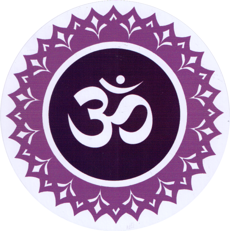 Crown chakra clipart clipart royalty free Crown Chakra - Bumper Sticker / Decal (4.5
