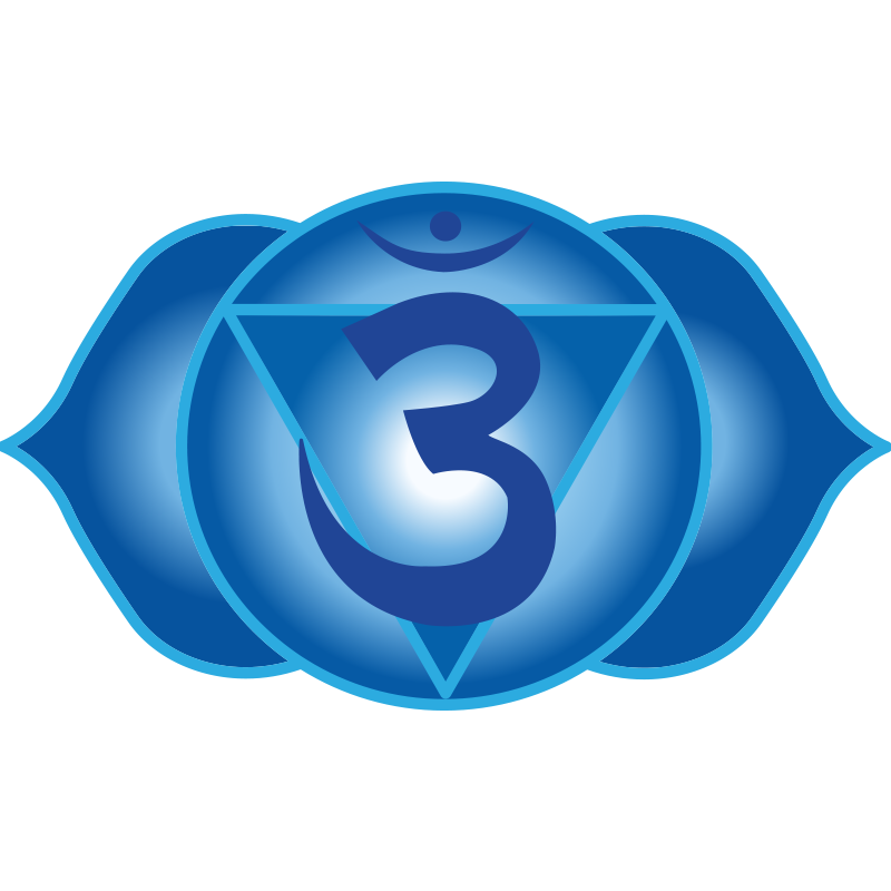 Crown chakra clipart clip transparent download Third Eye Chakra Symbol (6th chakra, Ajna) | Chakra | Pinterest ... clip transparent download