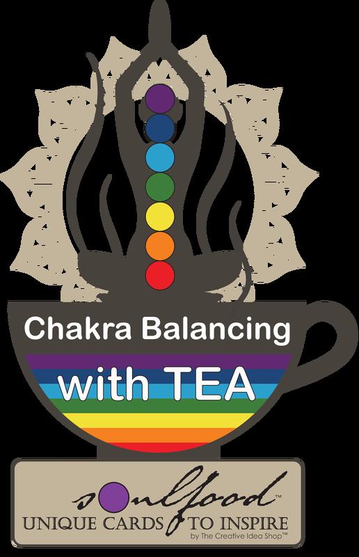 Crown chakra clipart graphic library stock CHAKRA Tea Card Collection WS - THE CREATIVE IDEA SHOP graphic library stock