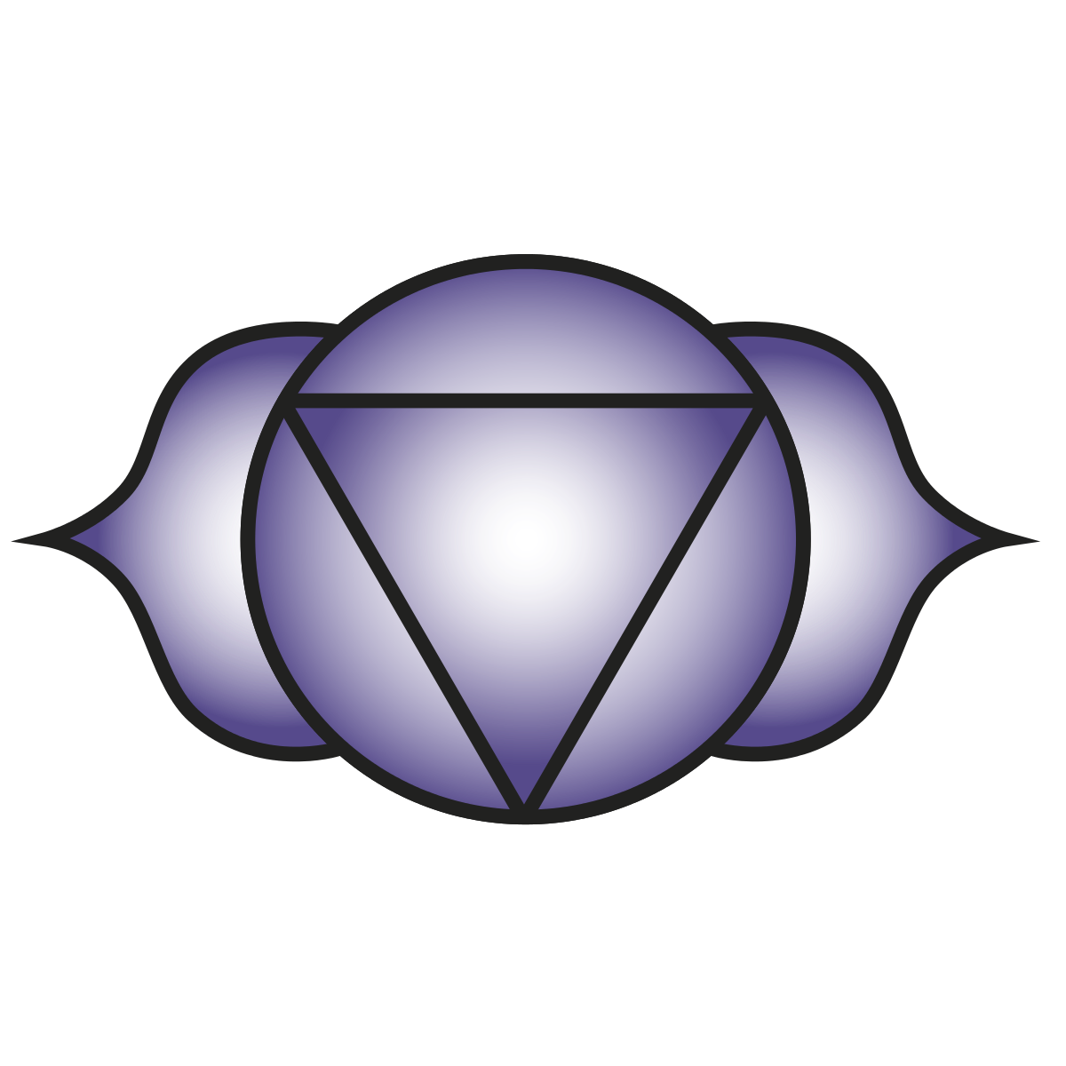 Crown chakra clipart graphic free library Ajna - Wikipedia graphic free library