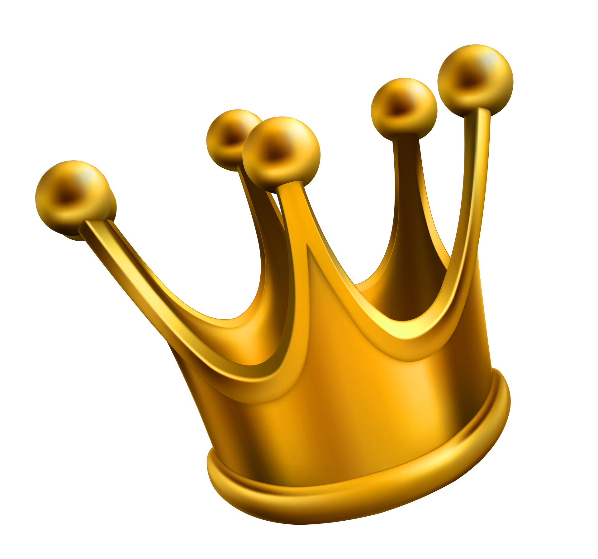 Free gold crown clipart