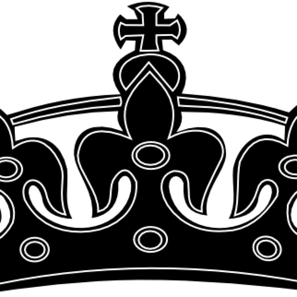 Free crown clipart black white banner transparent library Crown Clipart Black And White lion clipart hatenylo.com banner transparent library