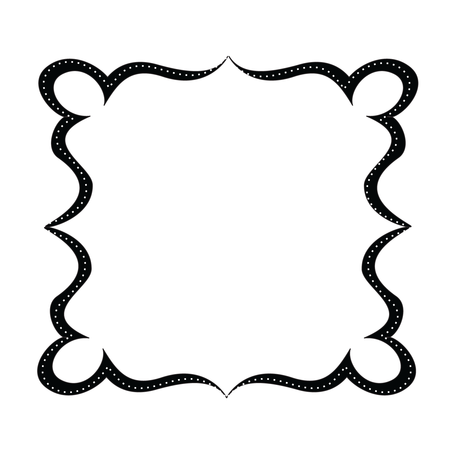 Ornate cross clipart vector black and white download Elegant Borders Clipart | Free download best Elegant Borders Clipart ... vector black and white download
