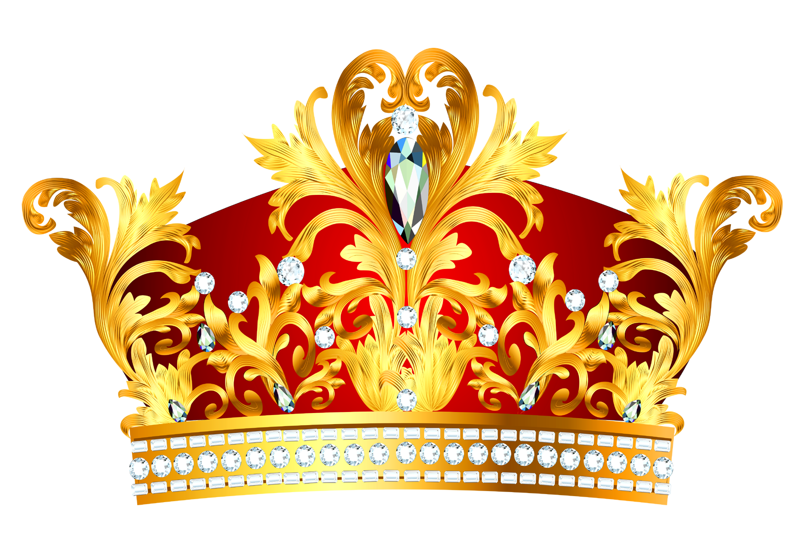 Crown for a queen clipart.  collection of king