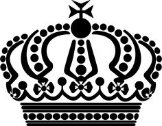 Crown clipart png vector black and white library Resultado de imagen para queen crown png | Crown | Pinterest ... vector black and white library