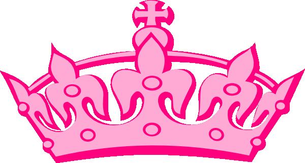 Pink clip art images. Crown clipart png