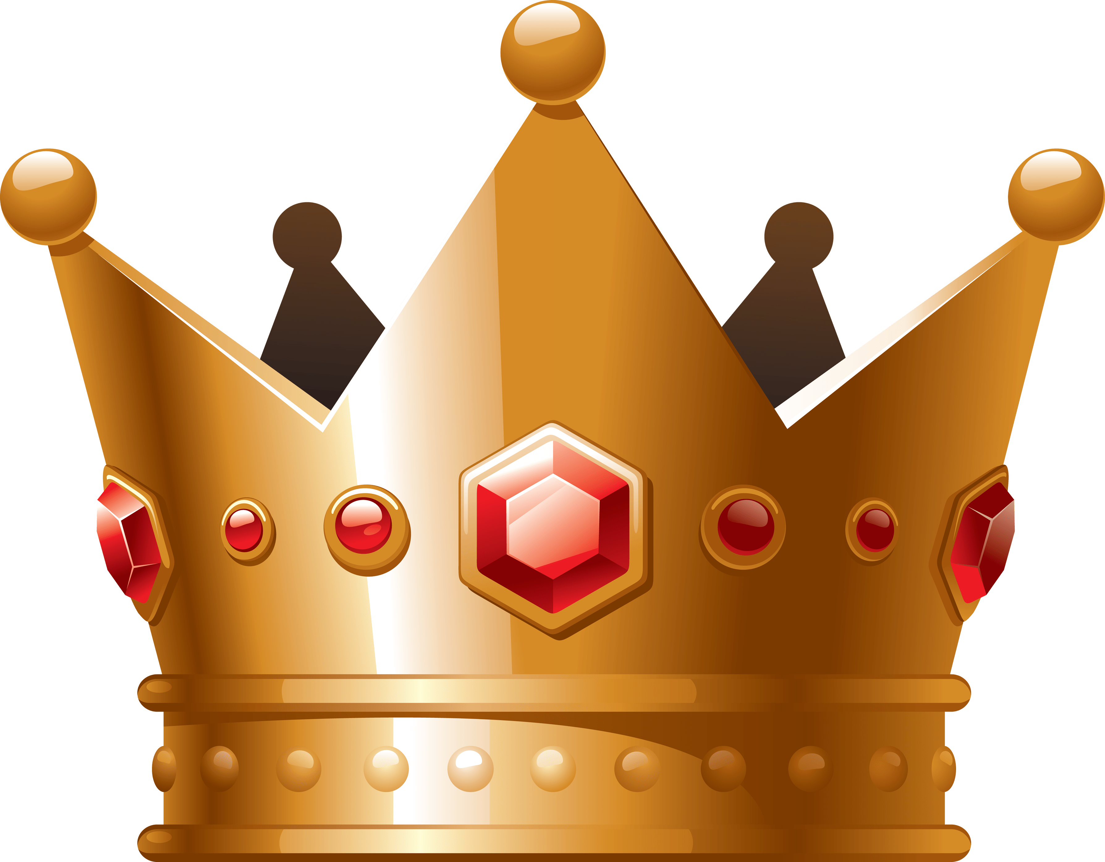 Gold bling crown clipart picture royalty free library Cartoon Crown Clipart transparent PNG - StickPNG picture royalty free library