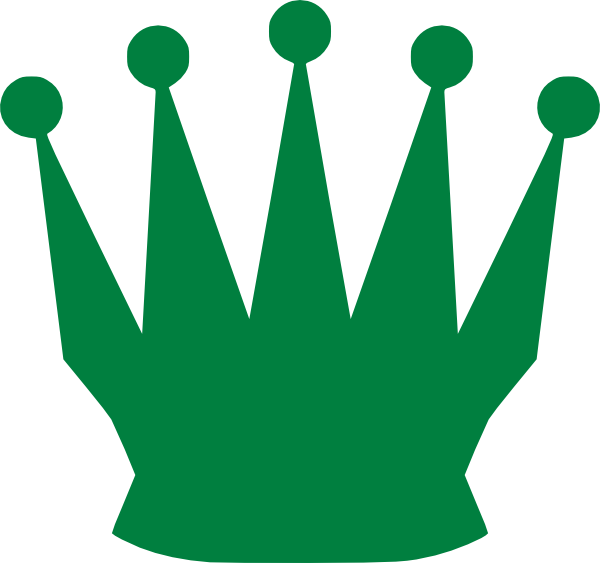 Queen crown clipart picture stock Green Queen Crown Clip Art at Clker.com - vector clip art online ... picture stock