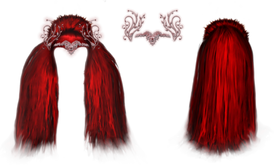 Crown clipart red queen png library stock The Red Queen Hair And Crown by VelmaGiggleWink on DeviantArt png library stock