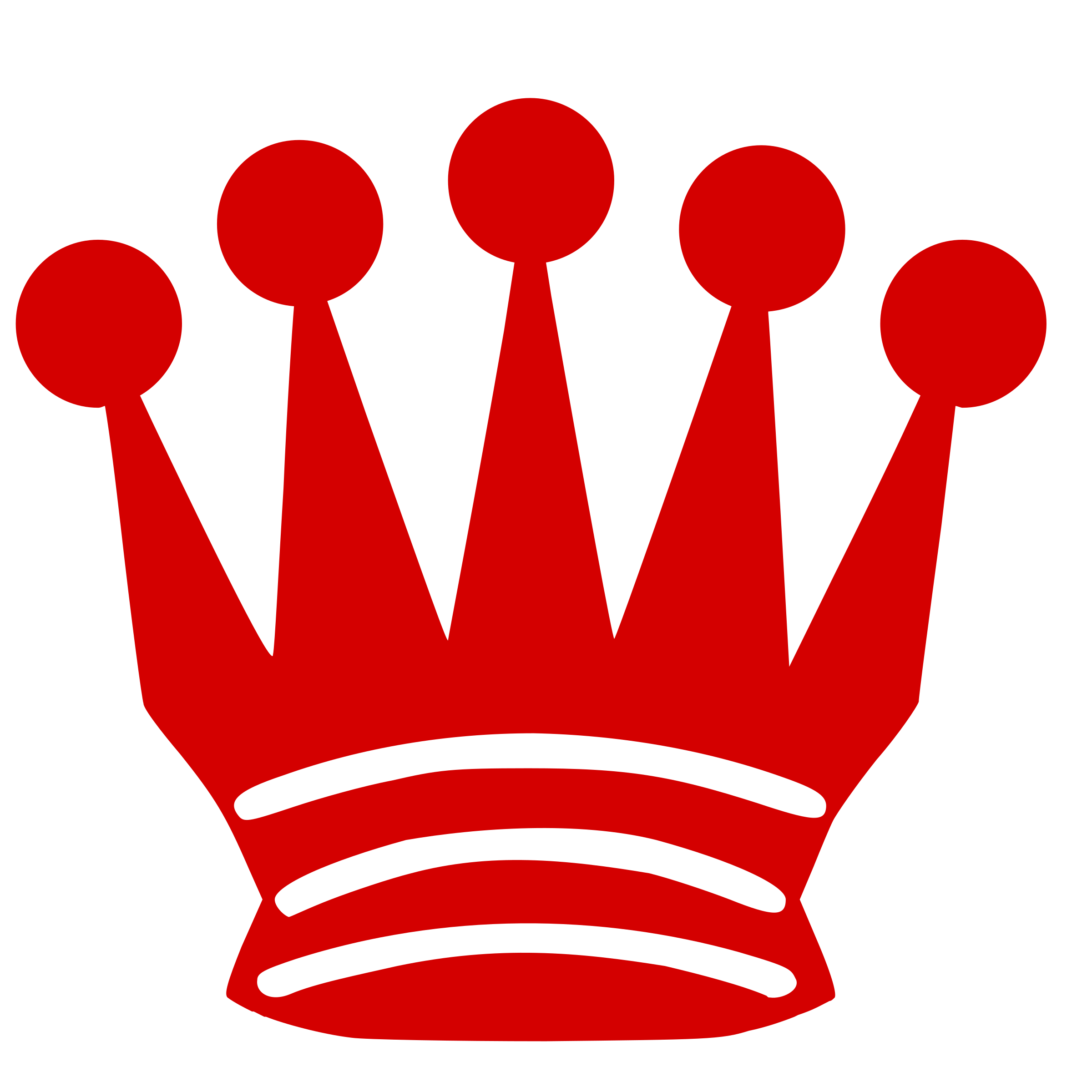 Chess piece silhouette dama. Crown clipart red queen