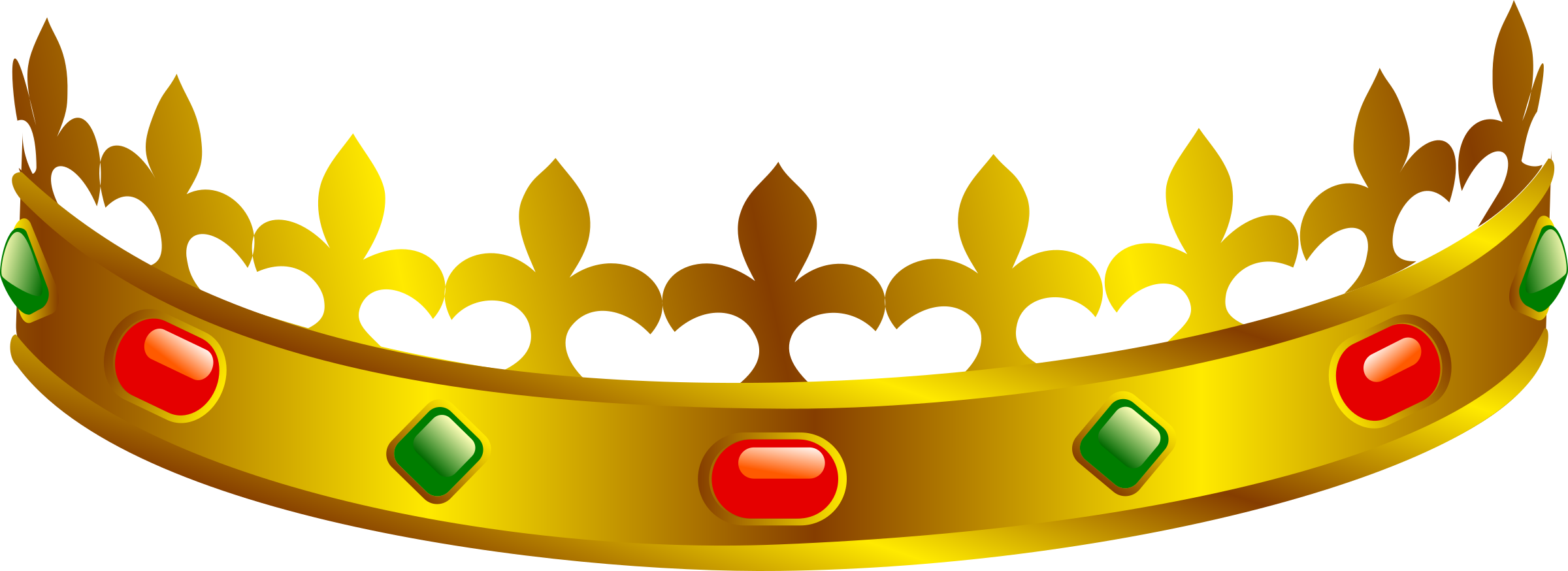 Crown clipart small banner transparent download Clipart - front crown banner transparent download