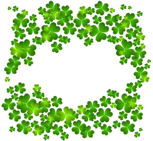 Crown clover clipart black and white svg free download Irish Shamrock Decor PNG Clipart | St. Patrick's clip | Pinterest ... svg free download
