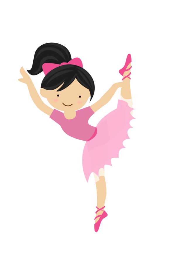 Little ballet png minus. Crown dancer clipart