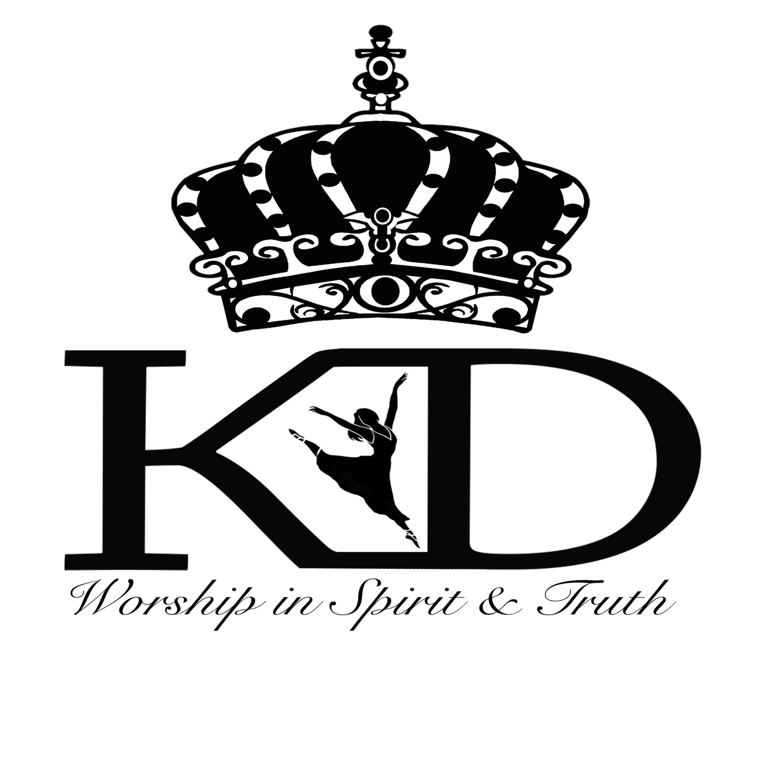Crown dancer clipart image black and white stock kingdom Dance Garments of Praise image black and white stock