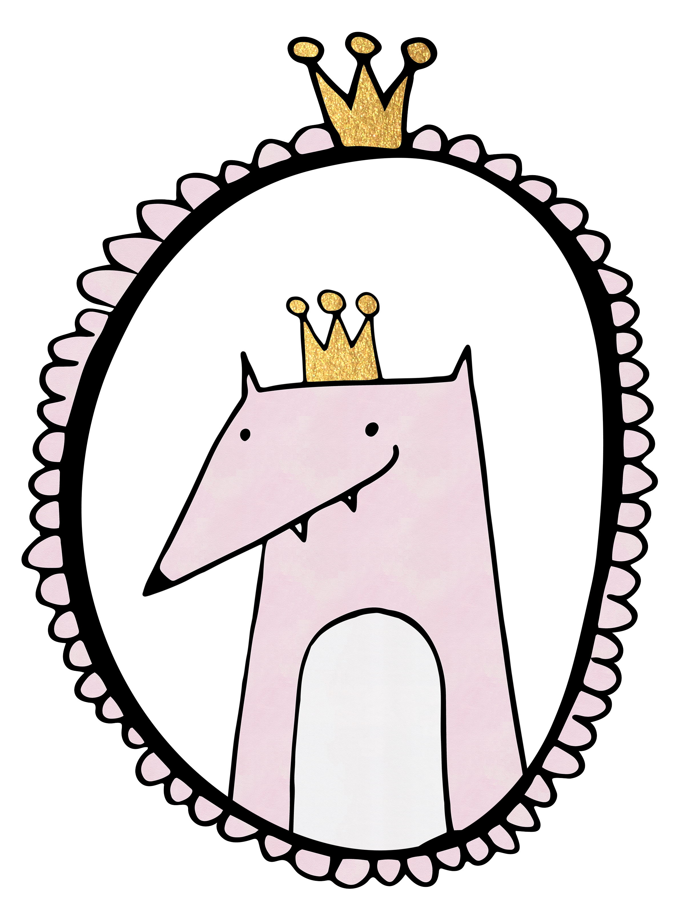 Crown design clipart clip art royalty free freebie clipart design with a woodland fox and crown by Wallifyer ... clip art royalty free