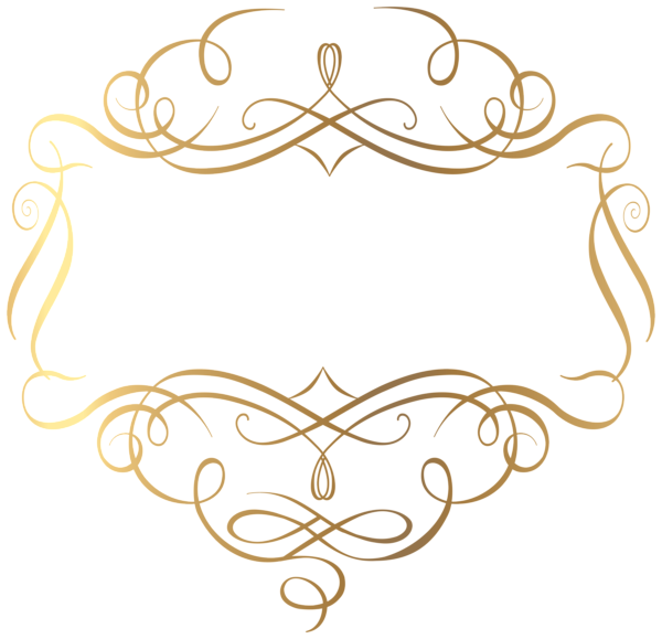Crown fillagree clipart clip art library download Gold Decoration PNG Transparent Clip Art Image | Arts | Pinterest ... clip art library download