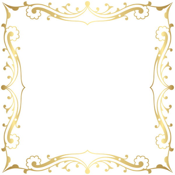Crown frame clipart. Decorative border transparent clip
