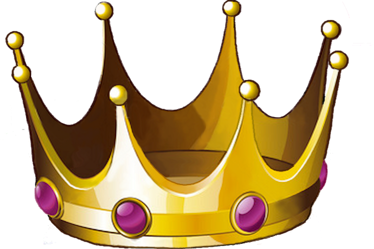 Crown fluffy clipart. Tilted king clip art