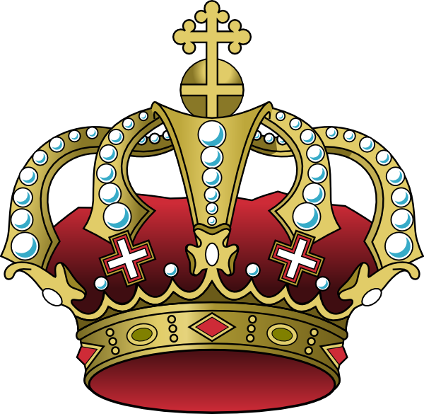 Crown and stars clipart. Christ the king clip