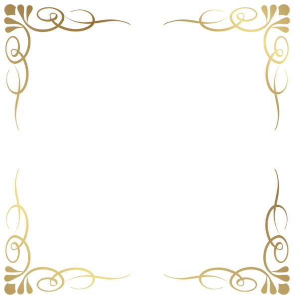 Crown frame clipart. Transparent decorative border png