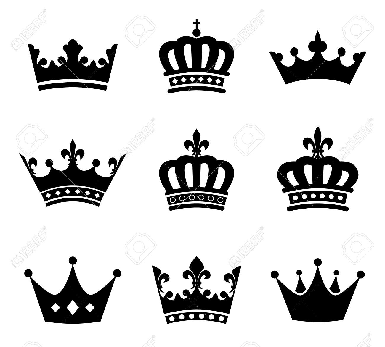 Crown illustration clipart svg transparent Heraldic Crown Stock Illustrations, Cliparts And Royalty Free ... svg transparent