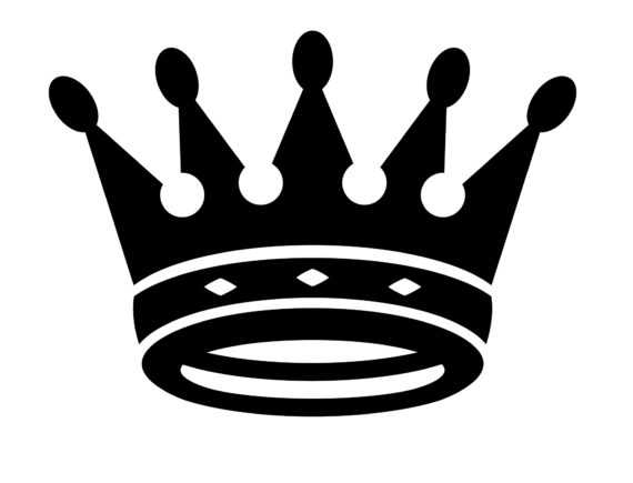 Crown illustration clipart picture black and white King Crown Vector Clipart | Free download best King Crown Vector ... picture black and white
